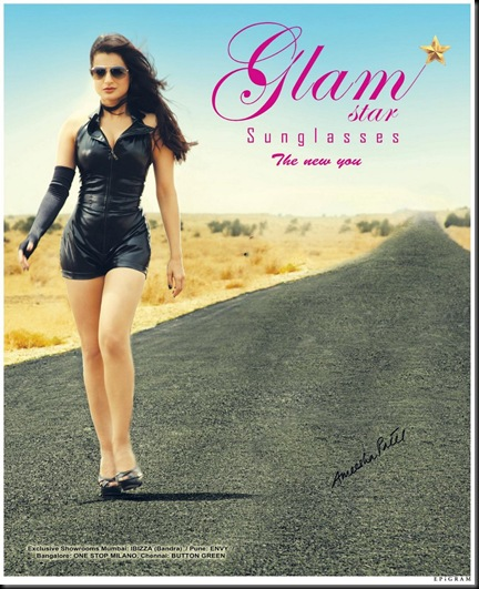 Ameesha-Patel-In-Bond-Look-Latest-Hot-Glam-Star-Sunglass-Photoshoot