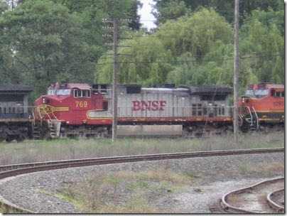 IMG_6312 BNSF C44-9W #769 at Peninsula Jct May 12, 2007