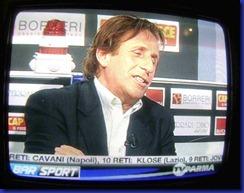 Paolo Mengoli, in una posa alla Morandi a Bar Sport stadiotardini com