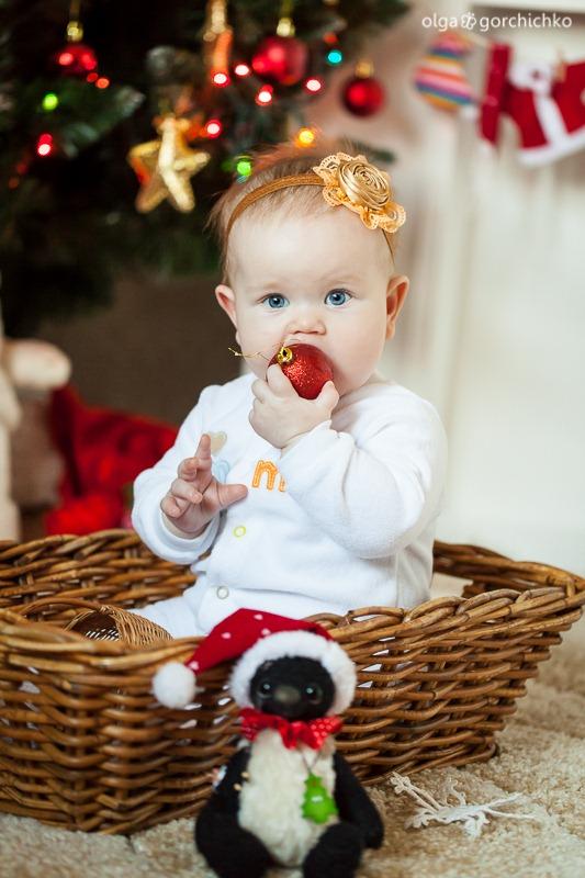 Детский новогодний фотопроект Рождественские мечты. 28. Катя 8 мес (Светлана Тесля)-0764