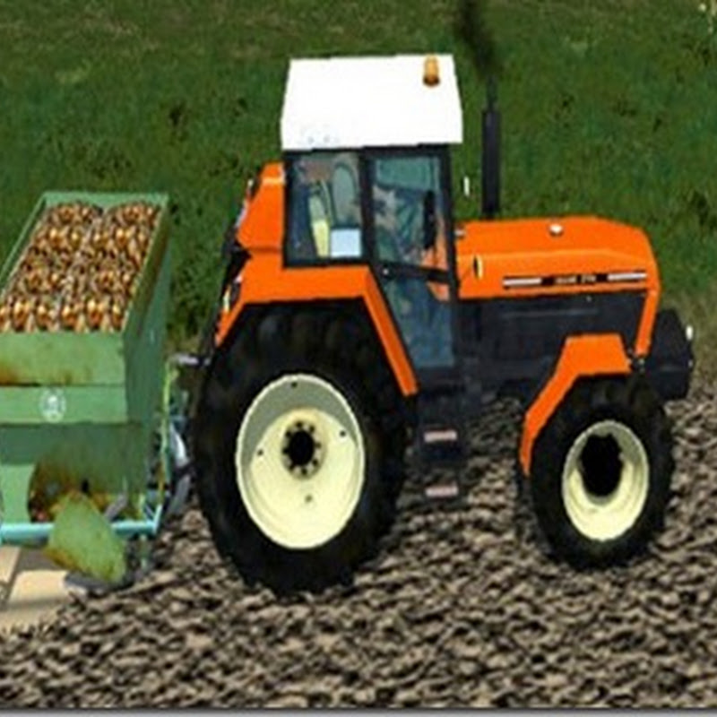 Farming simulator 2013 - Potato Casual v 1.0