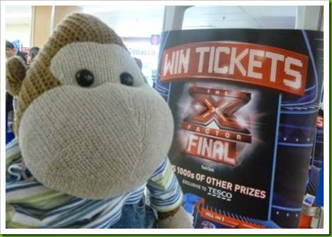 Tesco. Win X Factor Final Tickets