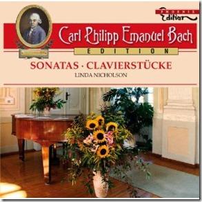 CPE Bach Sonatas Nicholson