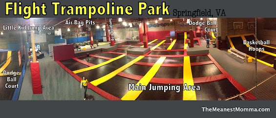 Flight Trampoline Park: Arena Map