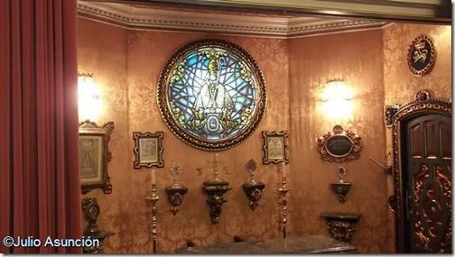 Capilla en la sala de recepciones del Ayuntamiento de Pamplona