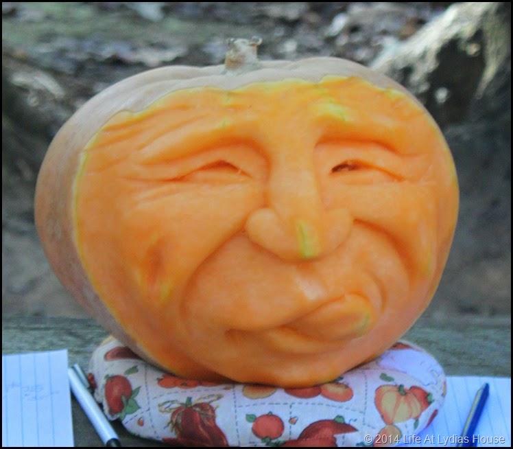 carved pumpkin head 5