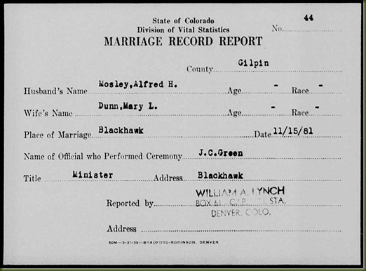 Alfred-H-Mosley-and-Mary-L-Dunn-marriage