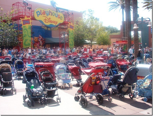 stroller parking