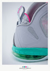 nike lebron 9 ps elite grey candy pink 9 22 sneakerbox LeBron 9 P.S. Elite Miami Vice Official Images & Release Date