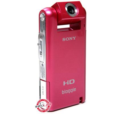 Filmadora de bolso Bloggie MHS-PM5, da Sony
