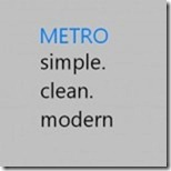 Metro-Style-User-Interface