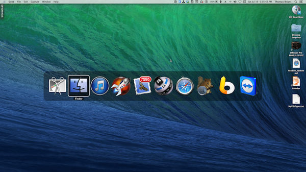 Display in Middle of Mac Screen