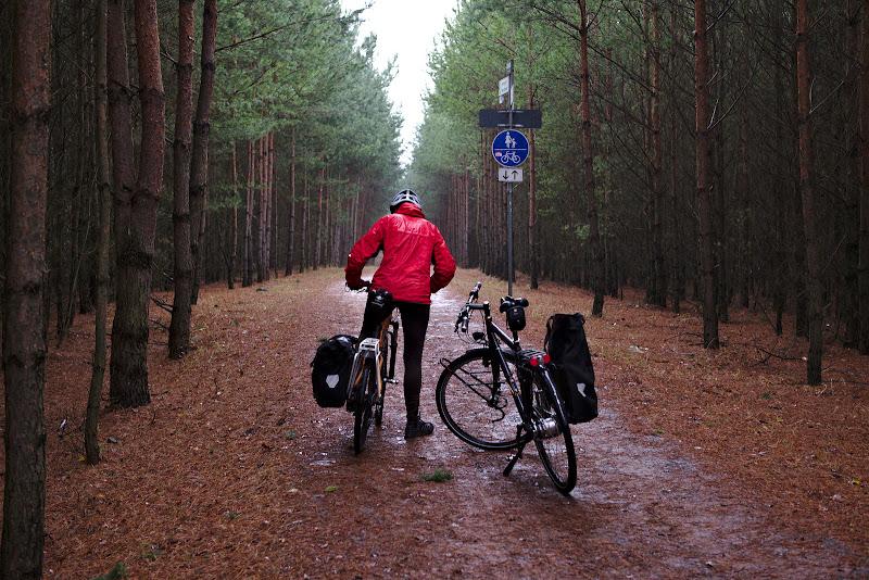 Ploaia nu putea sa ne paraseasca nici un utlimul weekend in Berlin.