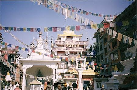 Tibetan temple in Nepal