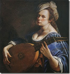 Self-Portrait as a Lute Player, ca. 1615–17