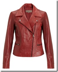 Jigsaw Soft Leather Biker Jacket
