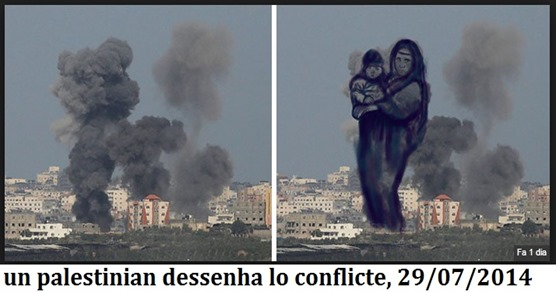 dessenh de Palestina Gaza