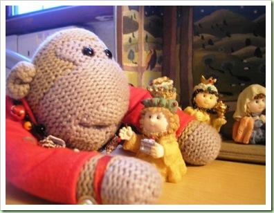 Nigel's Christmas crib