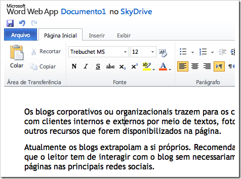 Safari + SkyDrive