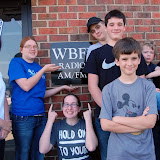 WBFJ - Station Tour - Rowan County Home School Group - 4-9-13