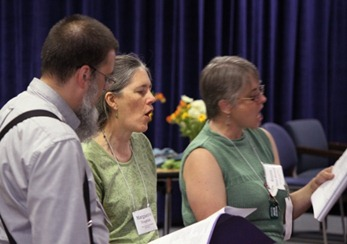 Friends Singing at North Carolina Yearly Meeting (Conservative)