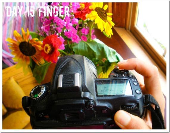 photoadayjuly finger