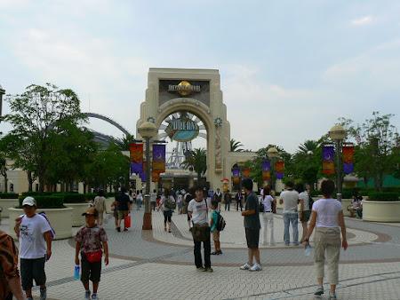 Imagini Universal Studios Osaka: intrare parc