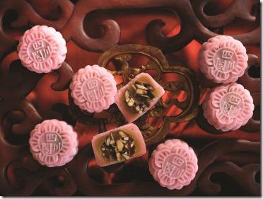 Szechuan Court Mini Snow-Skin Dark Rocher Chocolate Mooncake