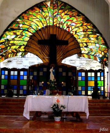 altar, aglipayan church