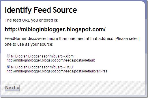 feedburner RSS