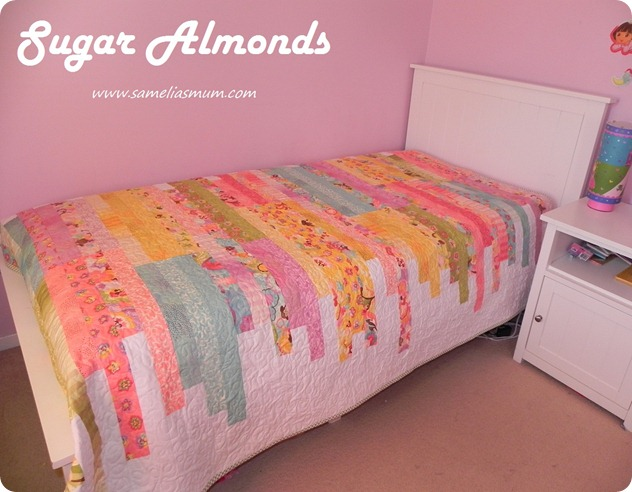 Sugar Almonds Quilt 2