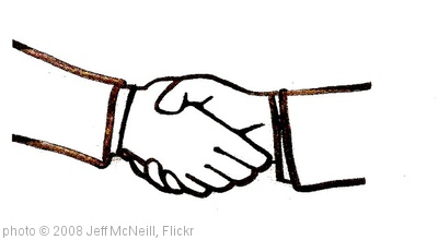 'Handshake' photo (c) 2008, Jeff McNeill - license: http://creativecommons.org/licenses/by-sa/2.0/