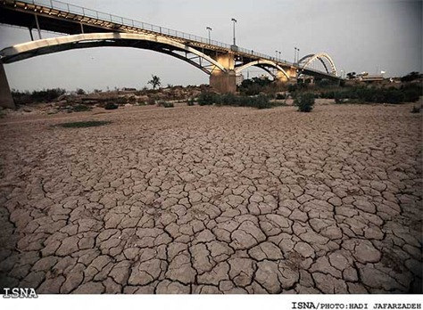 drought-Karun-River-Ahvaz-1