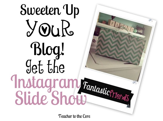 Get a Flashing Instagram preview on your sidebar!