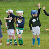 "2/7/2012 ECHO SPORT - 'Hands Up if you've played hurling before!"" so say these youngsters at Camp Ciaran GAA Camp at the Shamrocks GAA Club (Pic Howard Crowdy)"