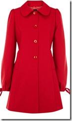Oasis Red Coat