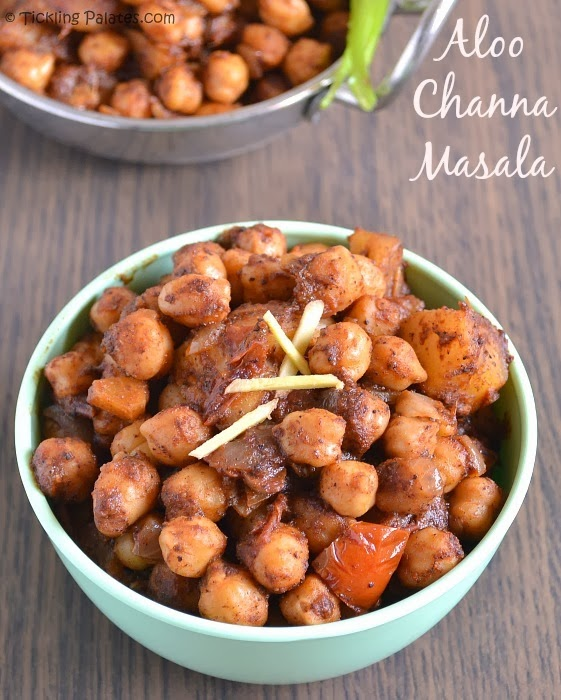 Potato Chickpeas Curry