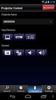 Screenshot of Epson iProjection