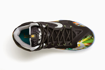 nike lebron 11 gr kings crown 1 05 everglades This Floral LeBron 11 is Indeed Called Everglades. Drops in May.