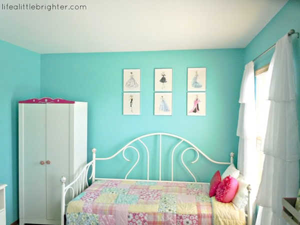 Homework a creative blog the inspiration board - Turquoise and pink bedroom ...