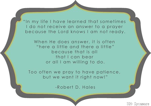 patience hales