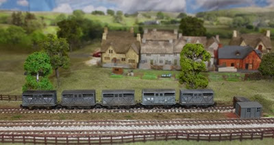 LMS Cattle Wagons 3