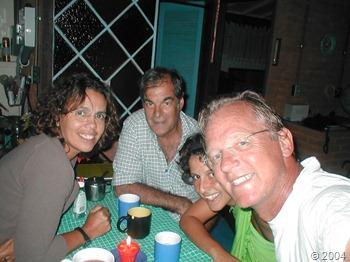 Viagem à V. de Mauá, Chris, Zé, Doris e Zurawel