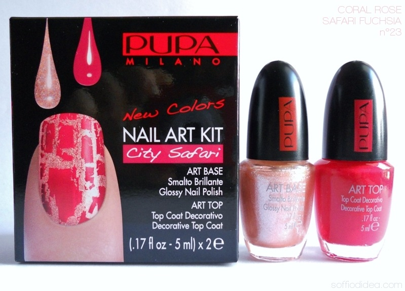 PUPA NAIL ART KIT safari 4