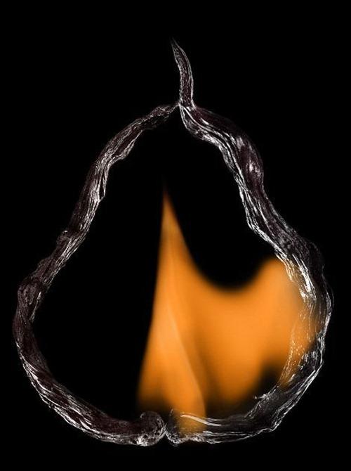 Arte russa com fogo 04