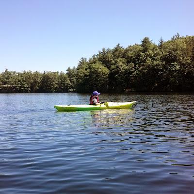 Solo kayak