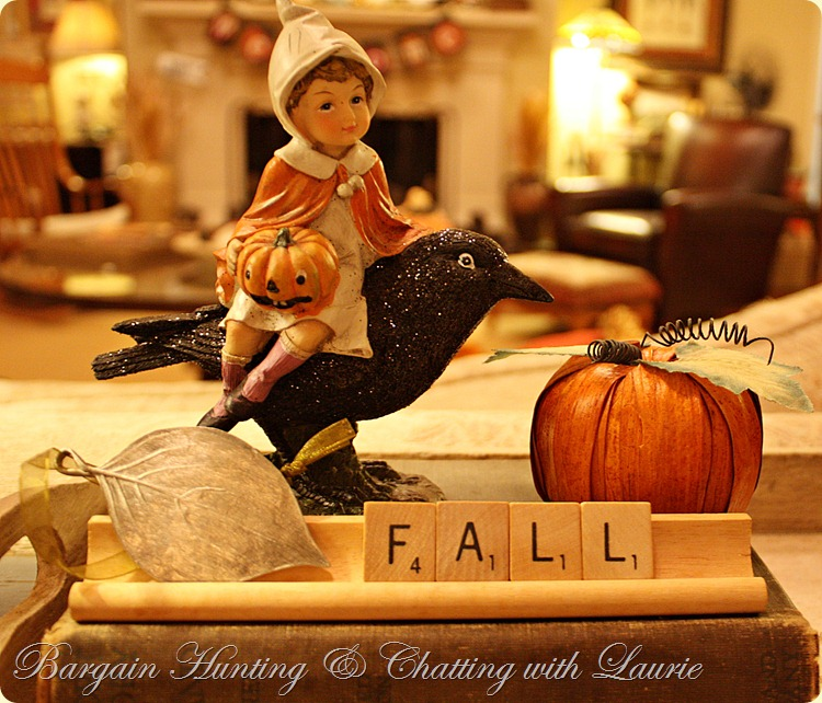 Fall Decor Bargain Hunting & Chatting with Laurie