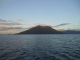 Pulau Pura seen from the boat (Dan Quinn, July 2013)