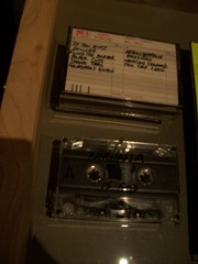 Nirvana's first demo tape