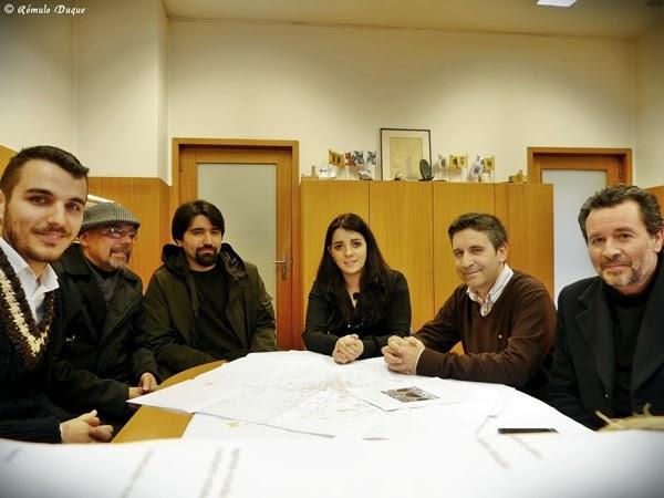 Ciclistas urbanos de Braga reuniram com Fátima Pereira e Octávio Oliveira, da Câmara Municipal de Braga